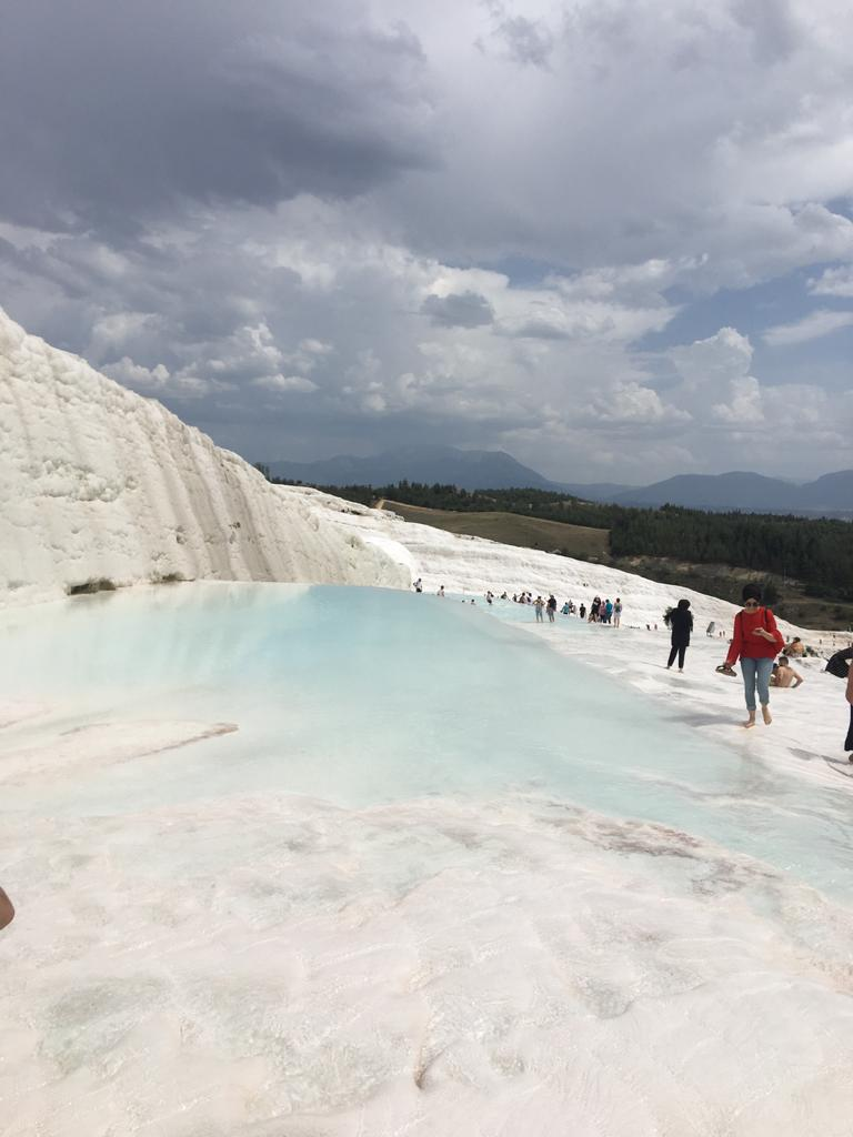 best Turkey destinations- Pamukkale