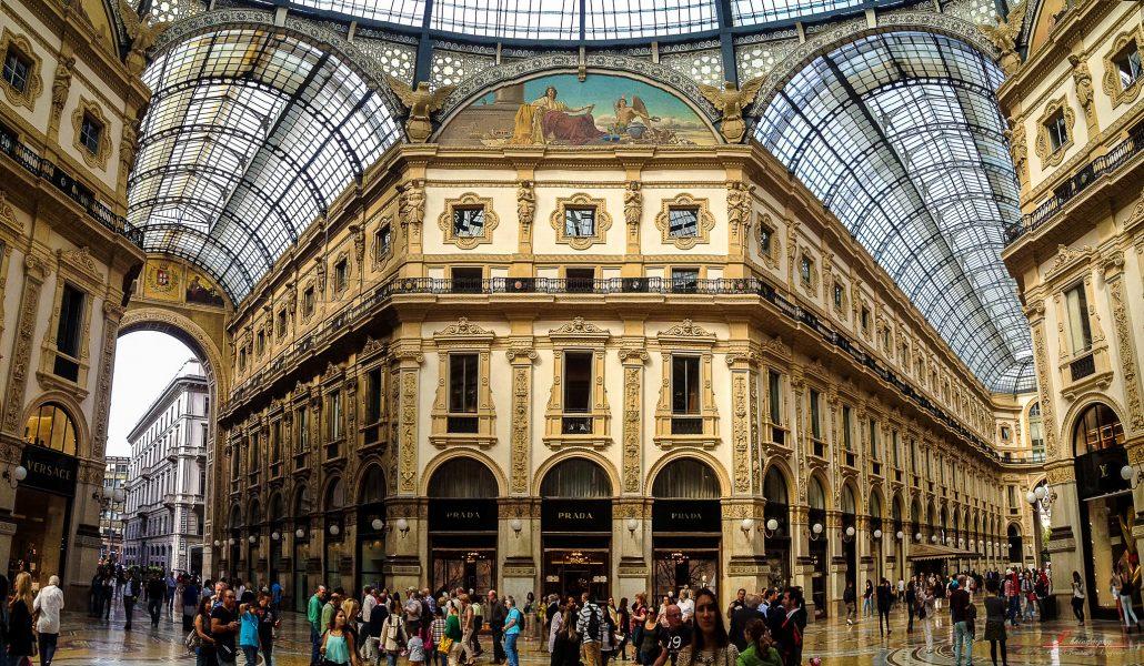 milano gezilecek yerler - Galleria Vittorio Emanuele