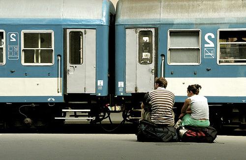 tren yolculugu
