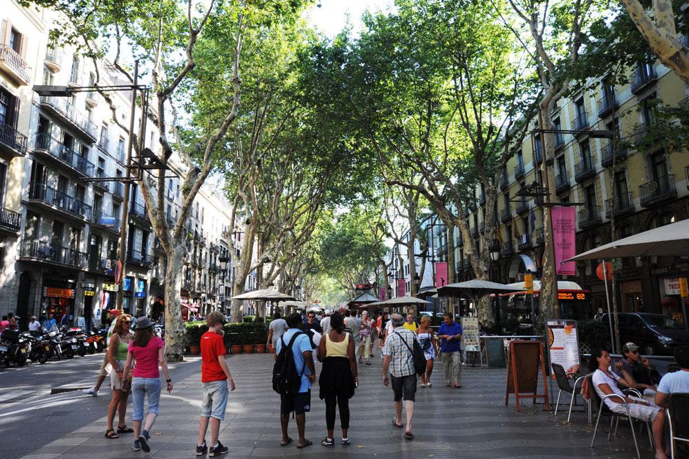 barcelona gezi rehberi la rambla