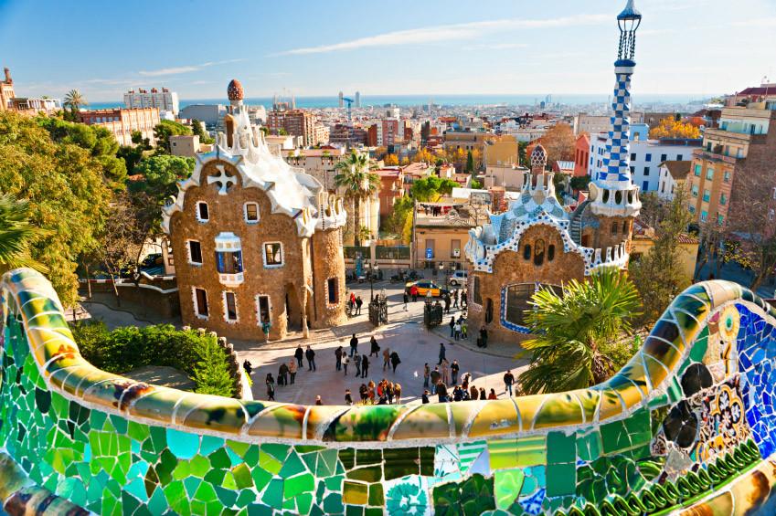 park guell barcelona gezisi