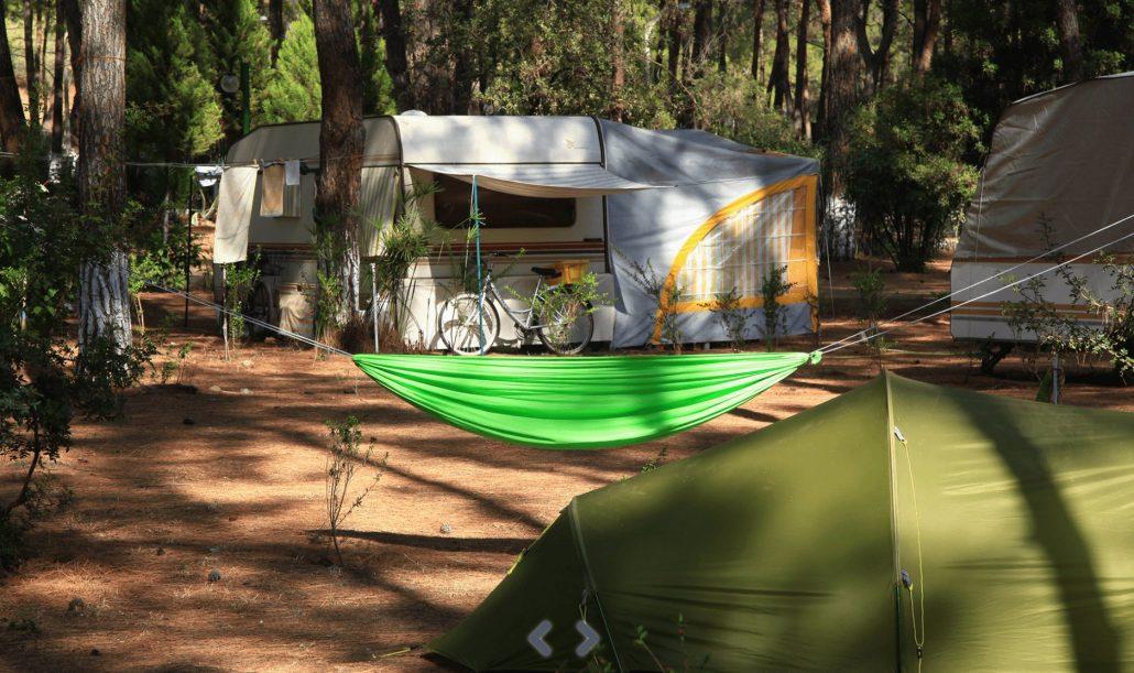 Turkiye'nin en iyi kamp alanlari - Datca Aktur Orman Kampi
