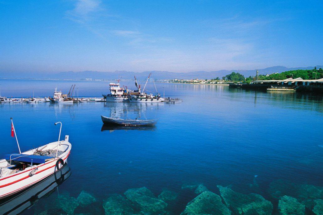 Turkiye'nin en iyi kamp alanlari - Bademli Koyu