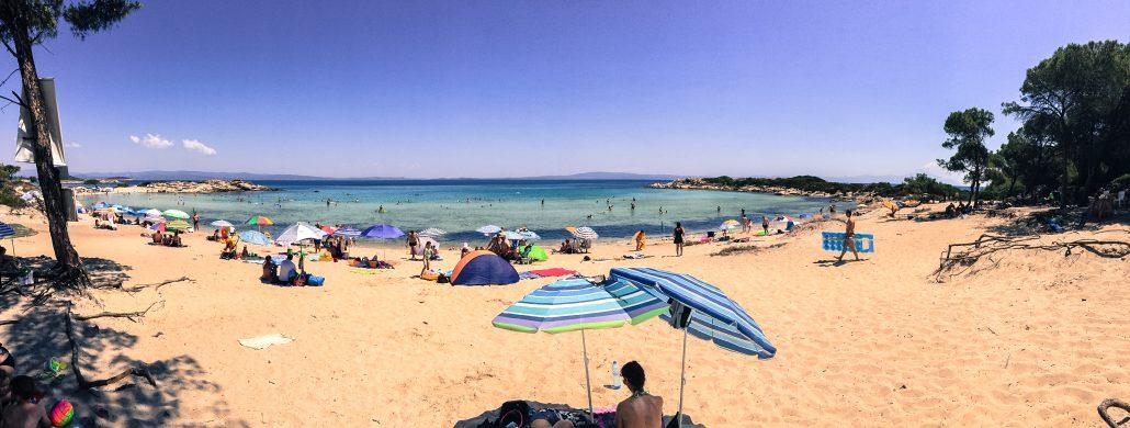 vourvourou plaji - halkidiki gezilecek yerler