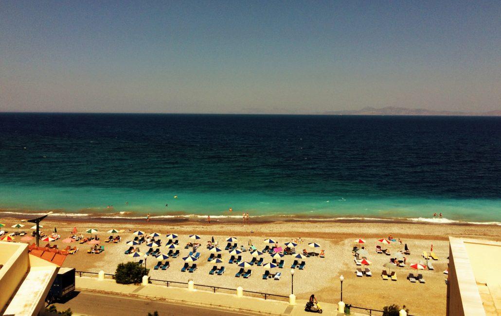 rodos eli beach