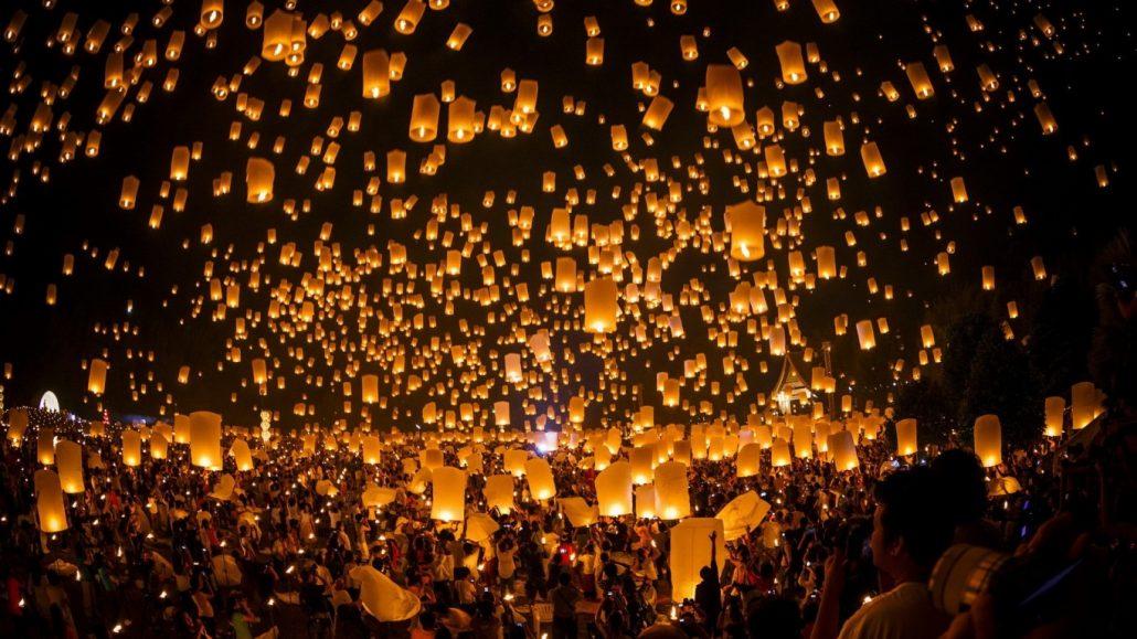 tayland festivalleri - loy kratong