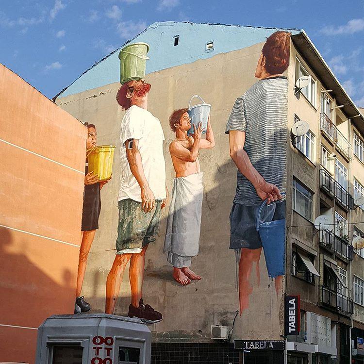 yeldegirmeni - mural - istanbul gezilecek yerler