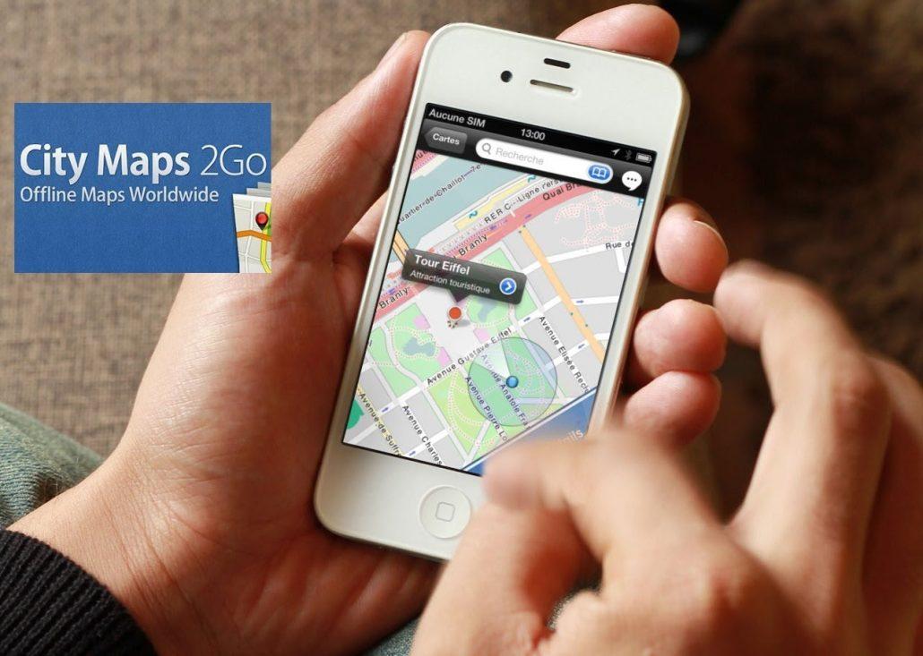 CityMaps2Go - seyahat sirasinda kullanilan uygulamalar