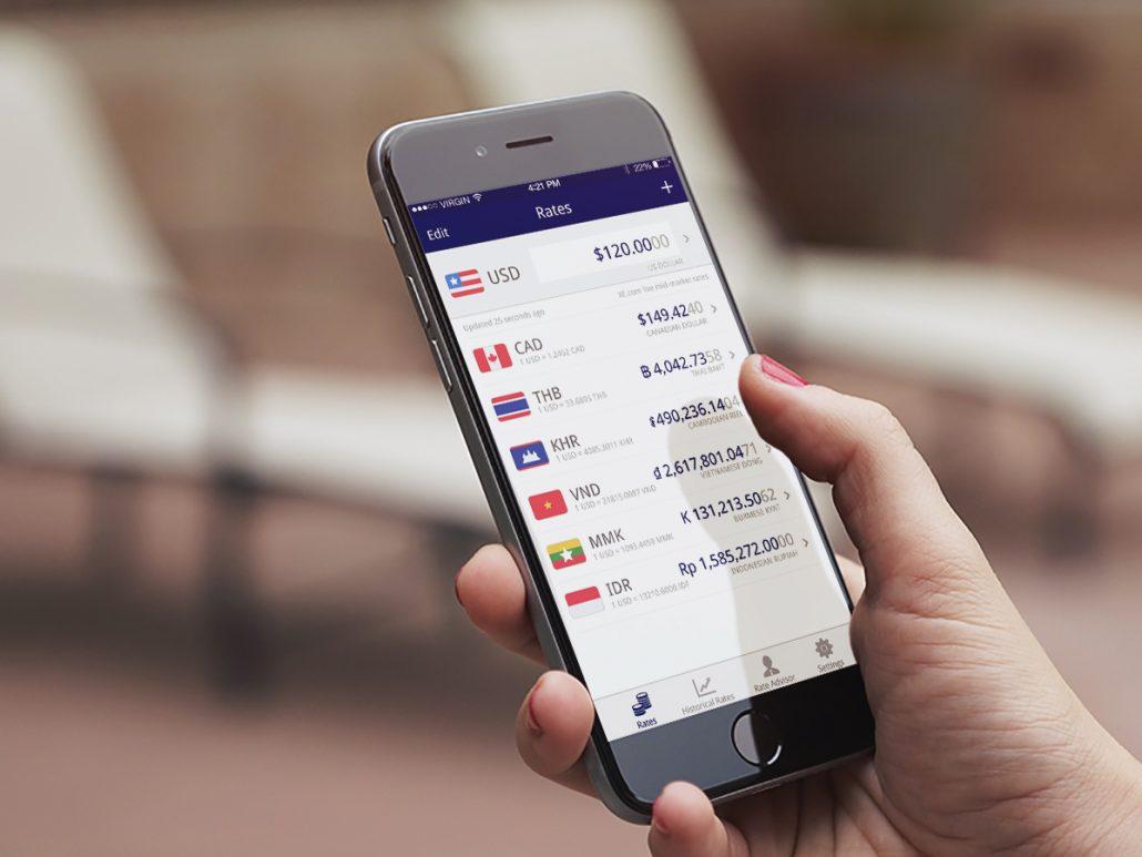 XE Currency - Gezi esnasinda kullanilan uygulamalar