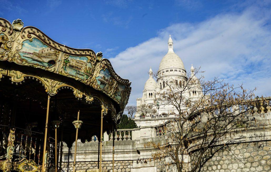 paris gezilecek yerler - kutsal kalp