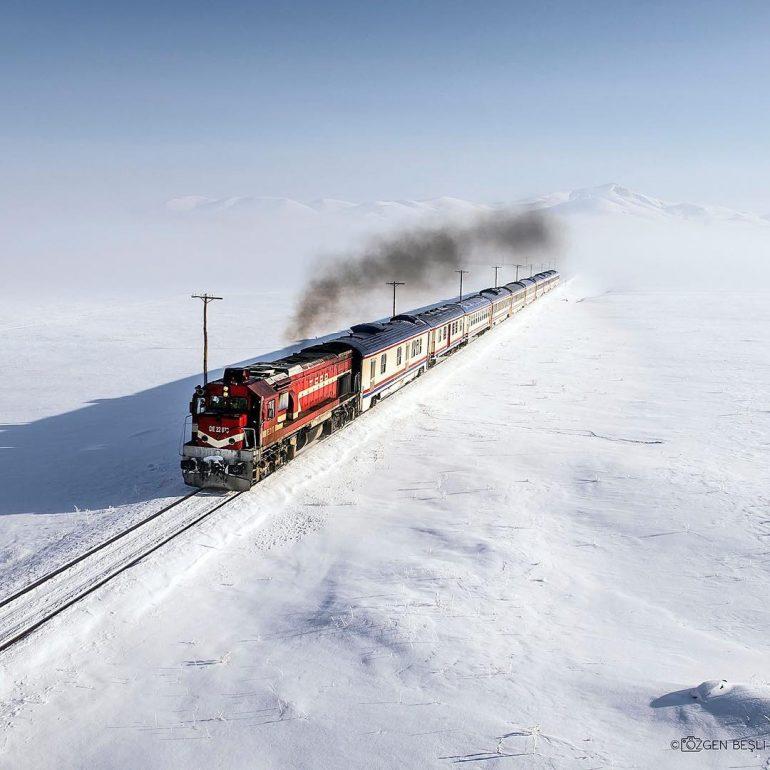 Doğu Ekspresi ile Kars'a yolculuk