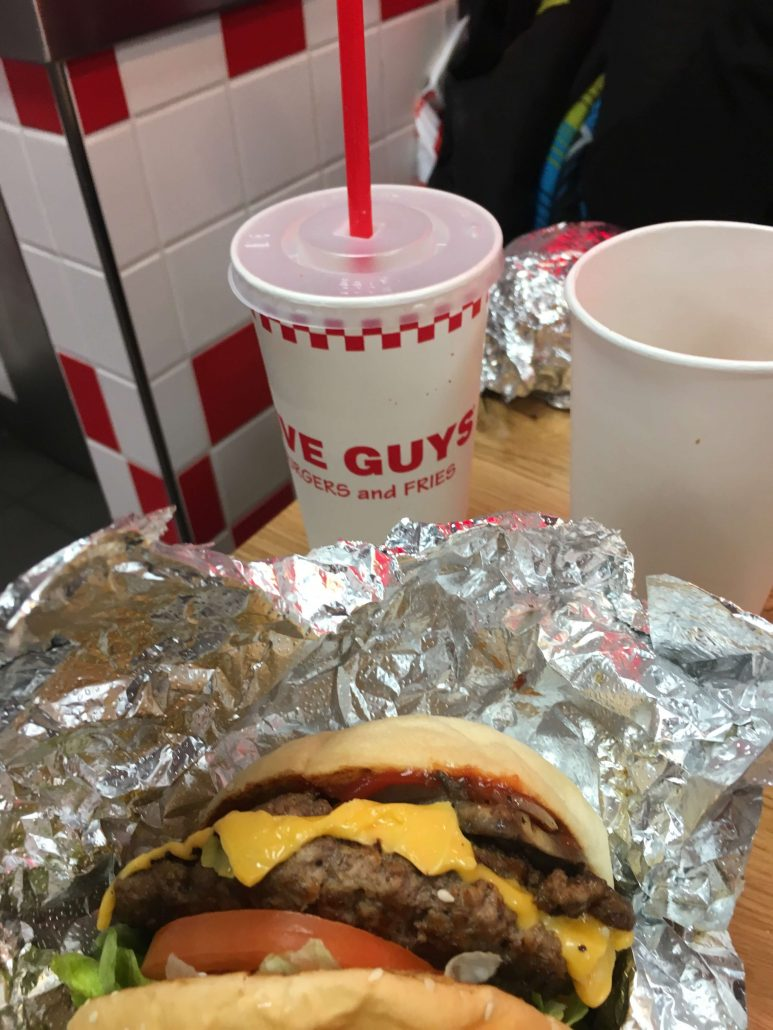 five guys- paris en iyi restoranlar