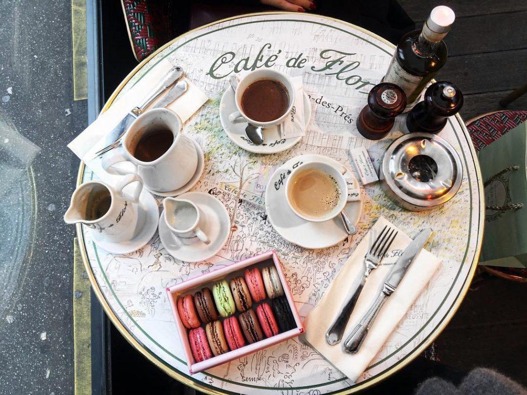 paris restoranları - cafe de flore