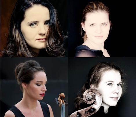 Yıldızlarla Oda Müziği Skride Quartet