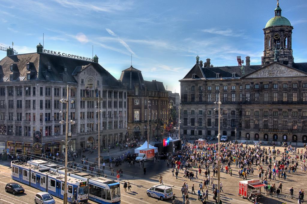 dam meydani- amsterdam gezilecek yerler