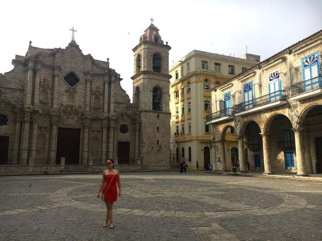 plaza de catedral - havanada gezilecek yerler