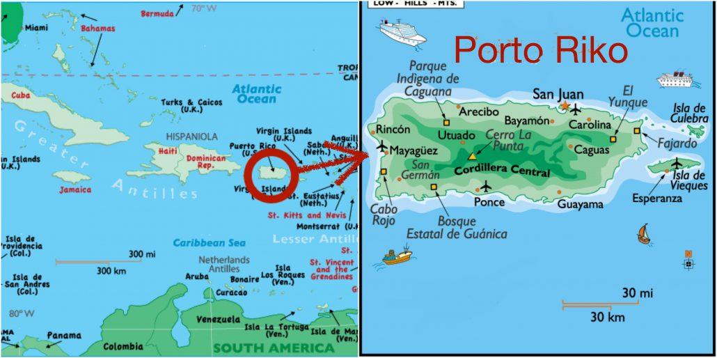 Porto Riko Haritasi