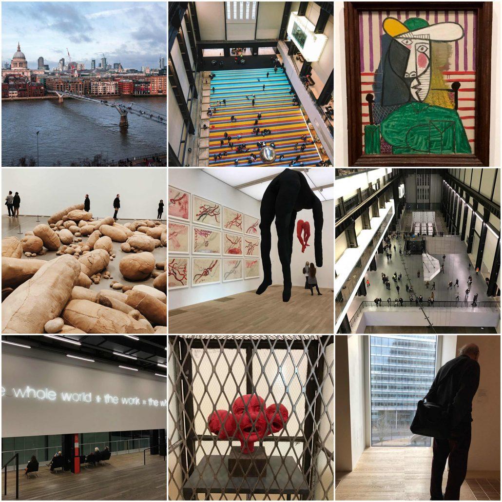 Tate Modern - Londra Gezilecek Yerler
