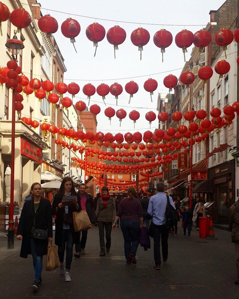 chinatown- londra gezilecek yerler