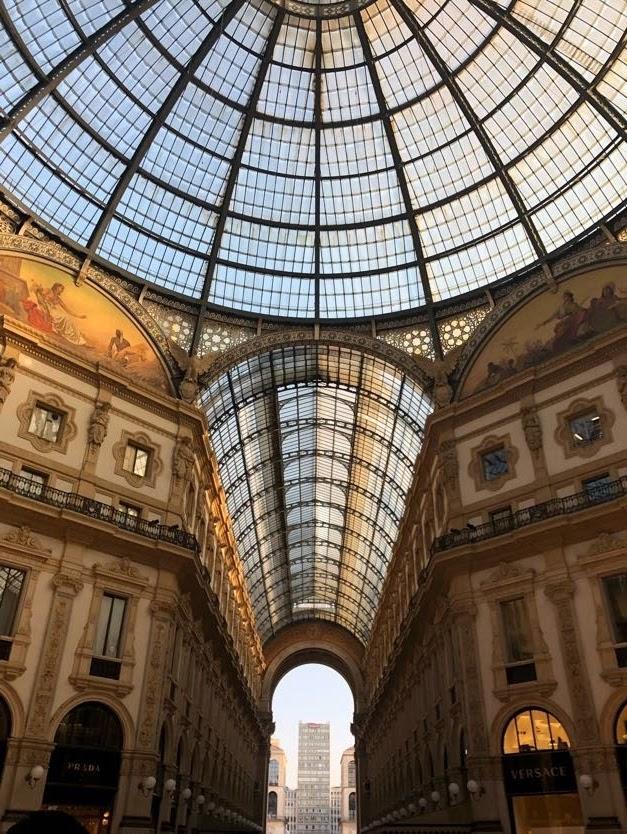 Milano Turu - Galleria Vittorio Emanuele II