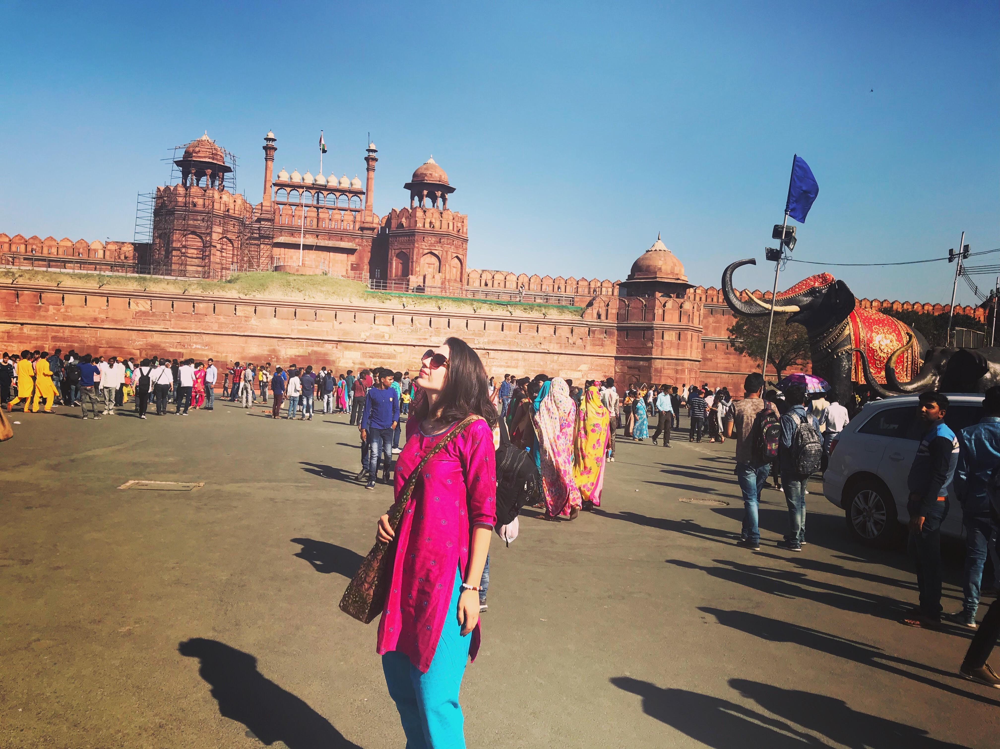 hindistan gezilecek yerler - red fort