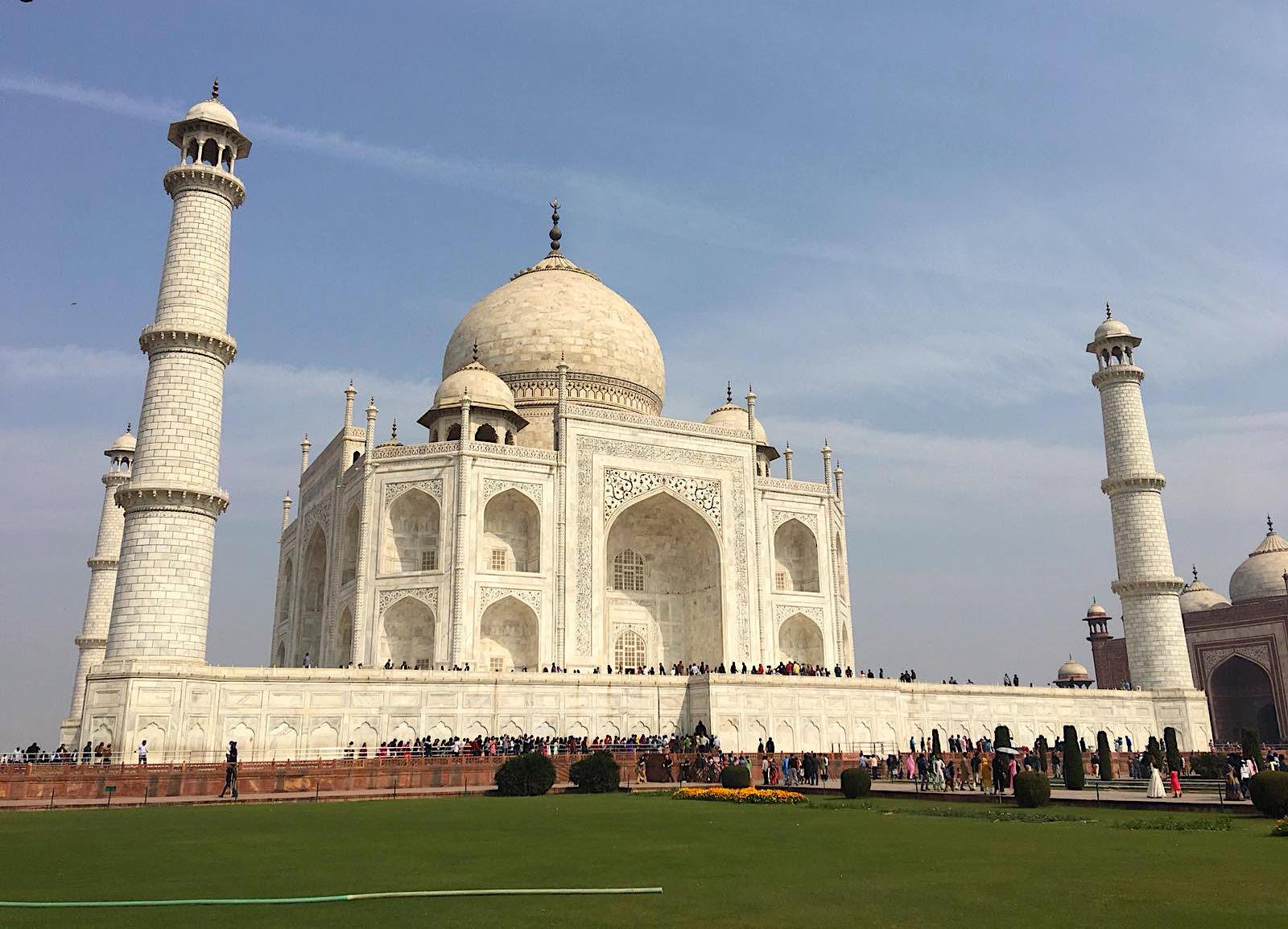 hindistanda gezilecek yerler - tac mahal