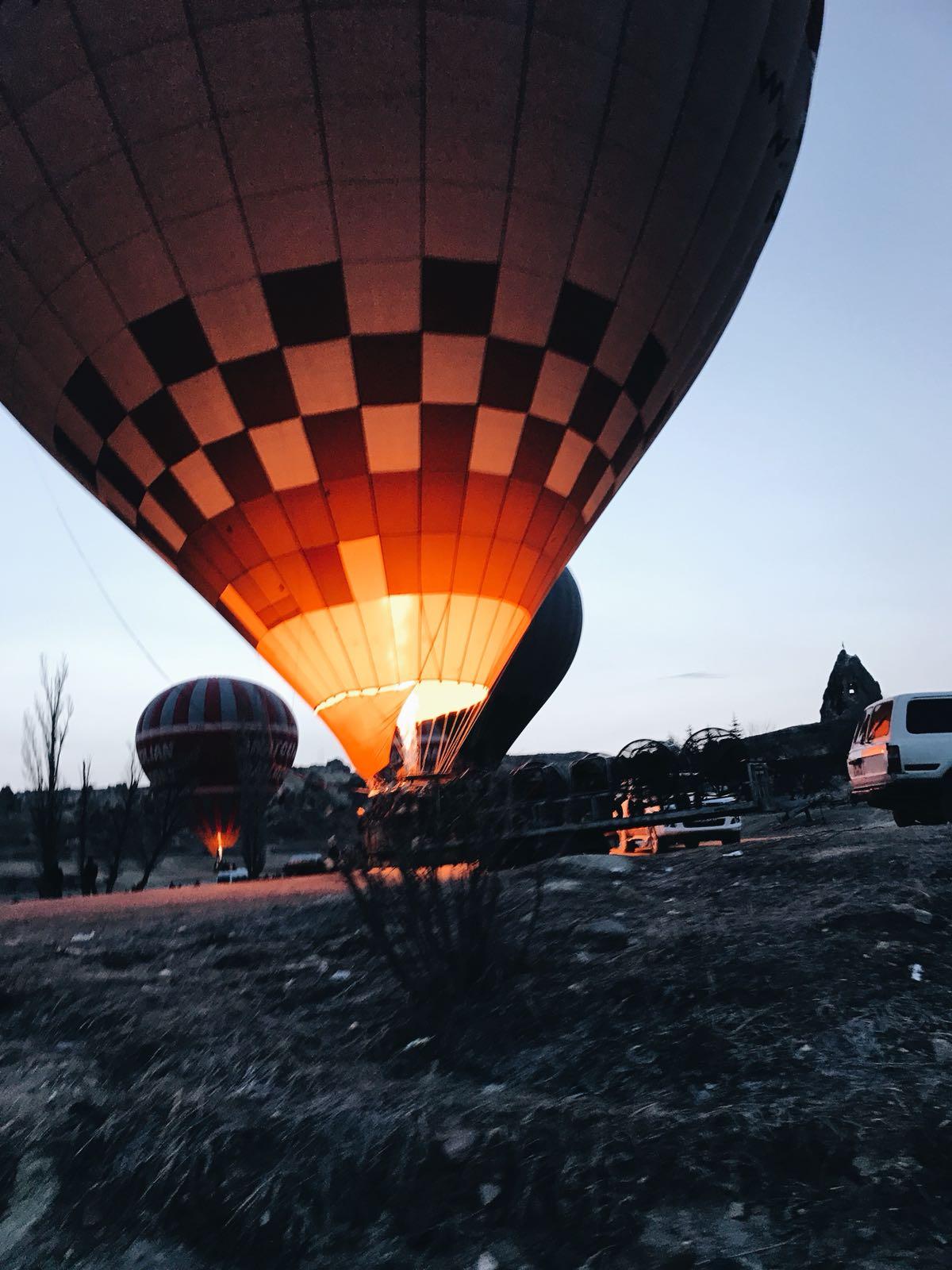 kapadokya balon turları- filgezi