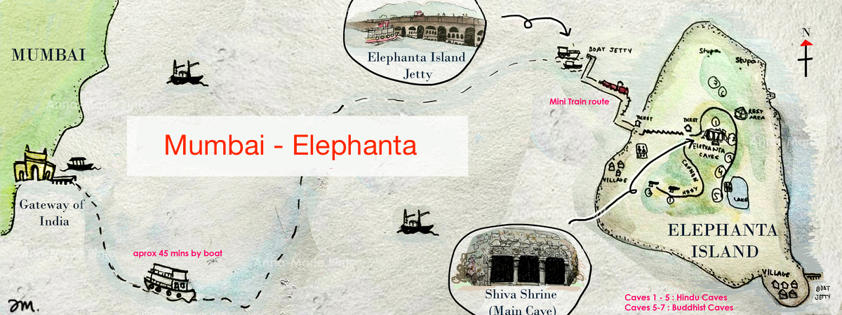 mumbai elephanta adasi ulasim