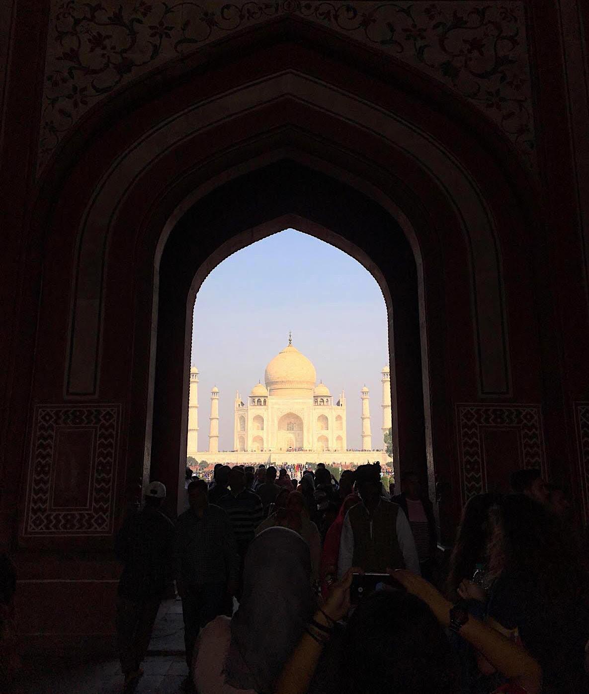 tac mahal - hindistan gezilecek yerler