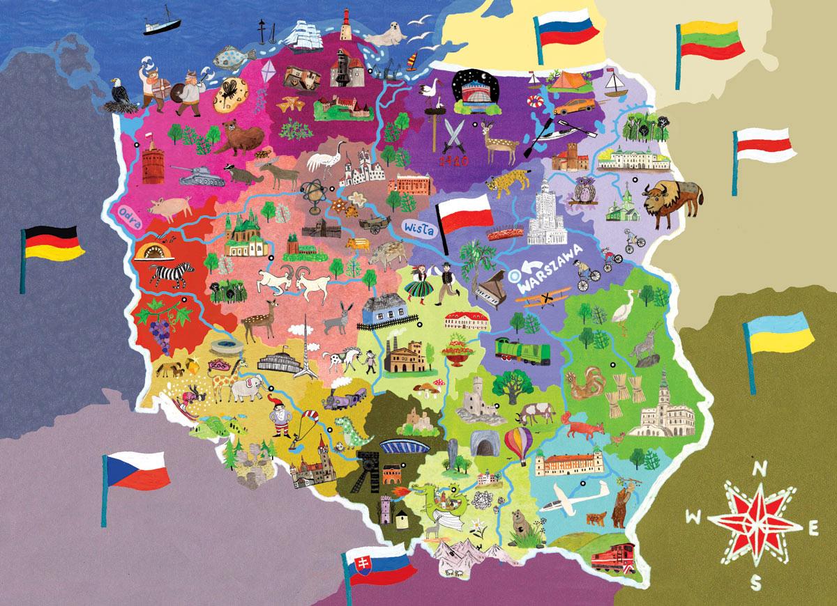 polonya haritasi