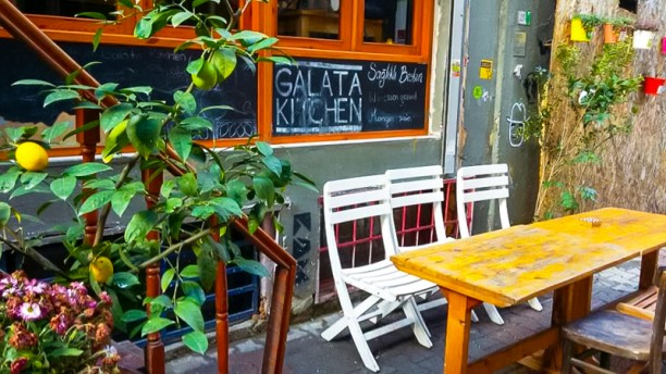 Galata Kitchen - İstanbul'daki En İyi Vejetaryen Restoranlar