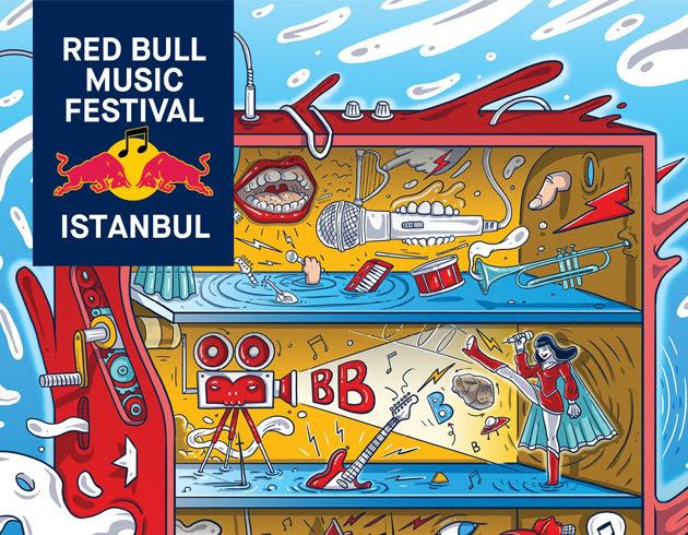 istanbul etkinlik rehberi redbull muzik festivali