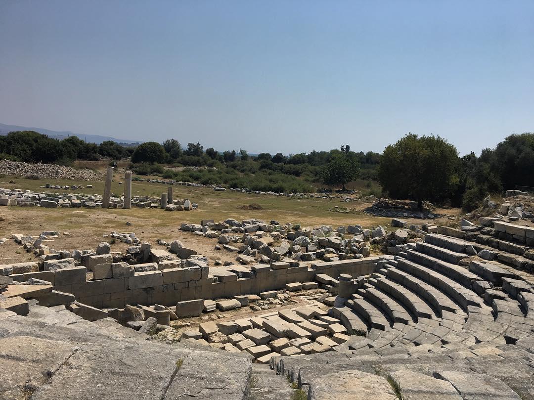 Teos Antik Kenti - Sığacık Gezi Notları