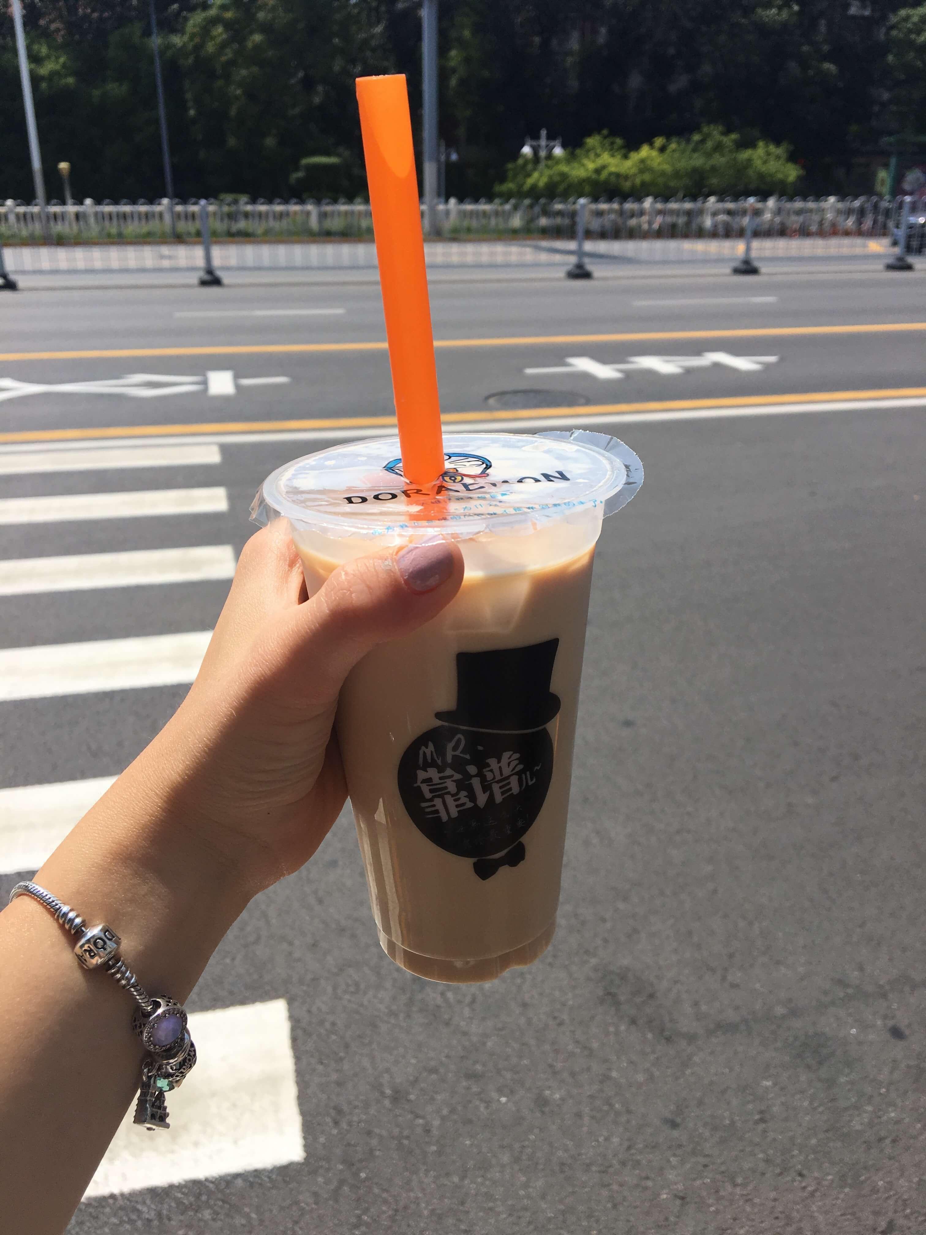 Tianjin - Sütlü Çay