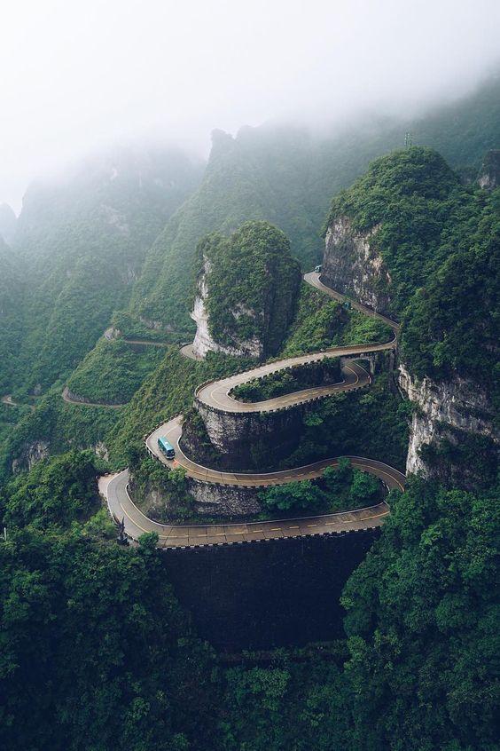 Tianmen Dağı - Çin Gezilecek Yerler
