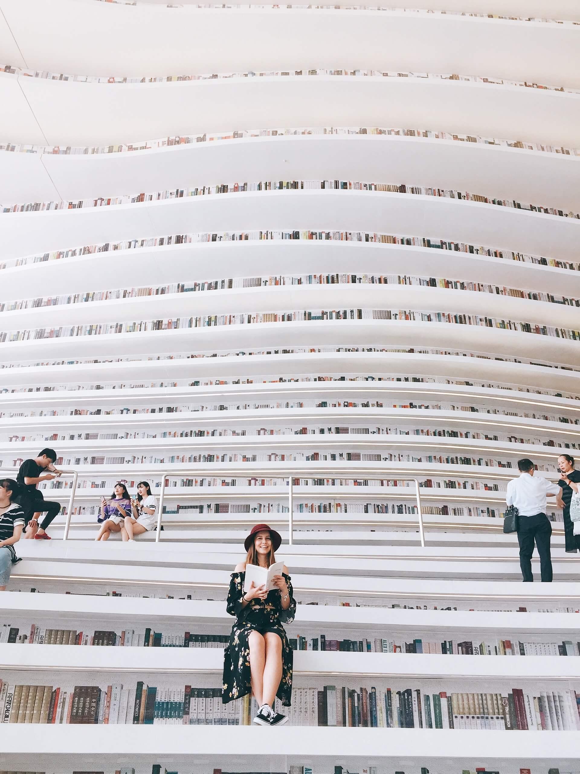 Binhai Kütüphanesi - Tianjin
