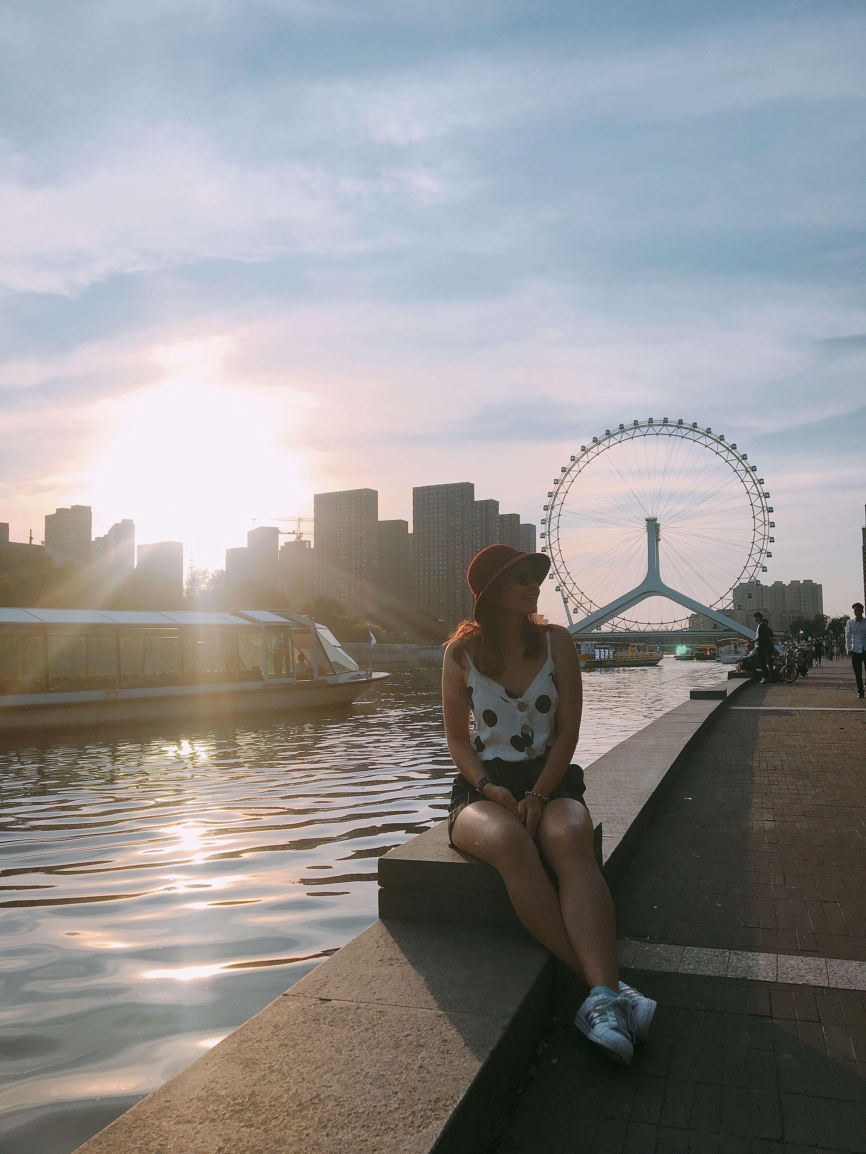 Tianjin Eye - Tianjin'de Gezilecek Yerler