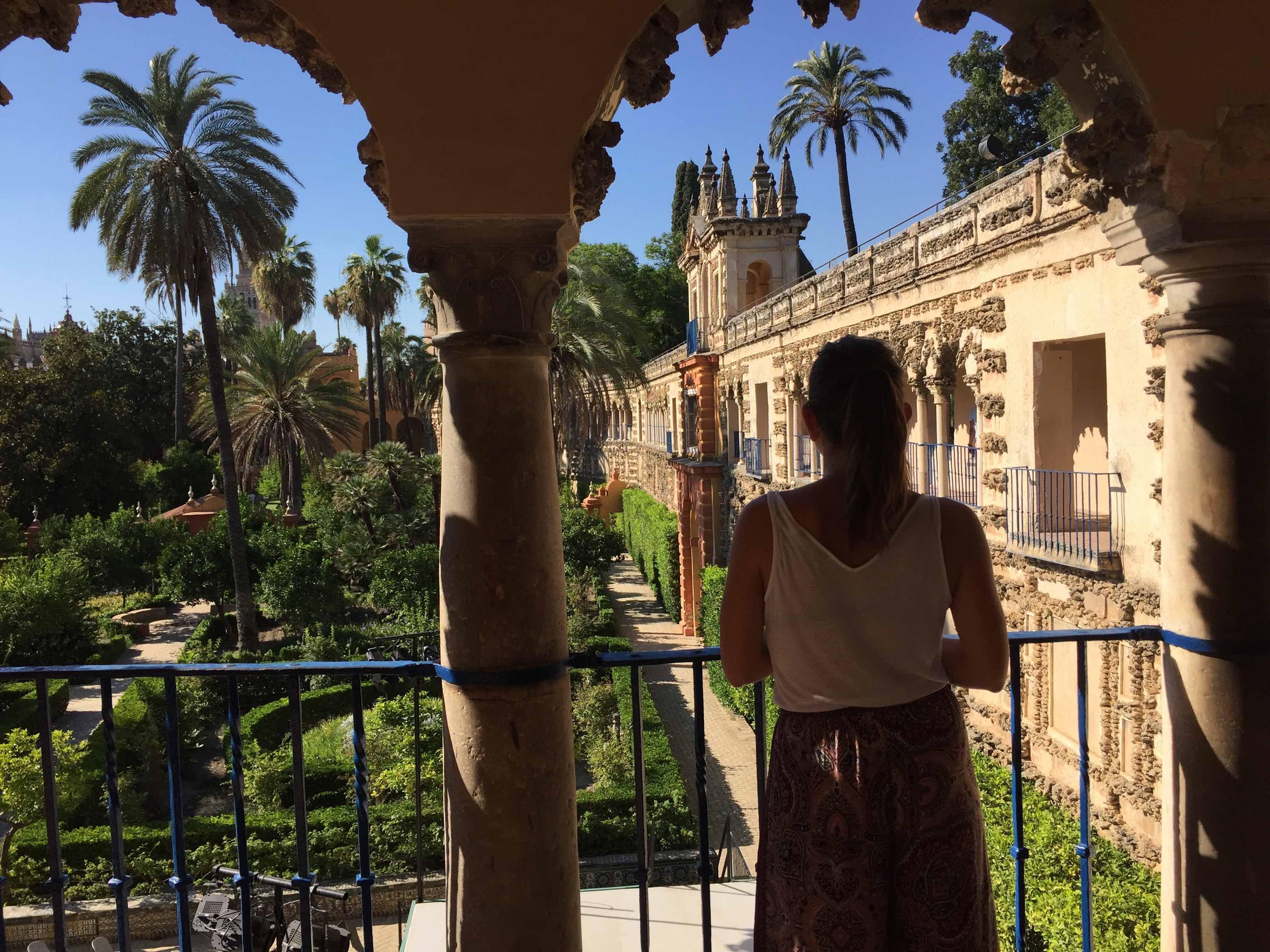 alcazar sarayı - ispanya gezi rehberi