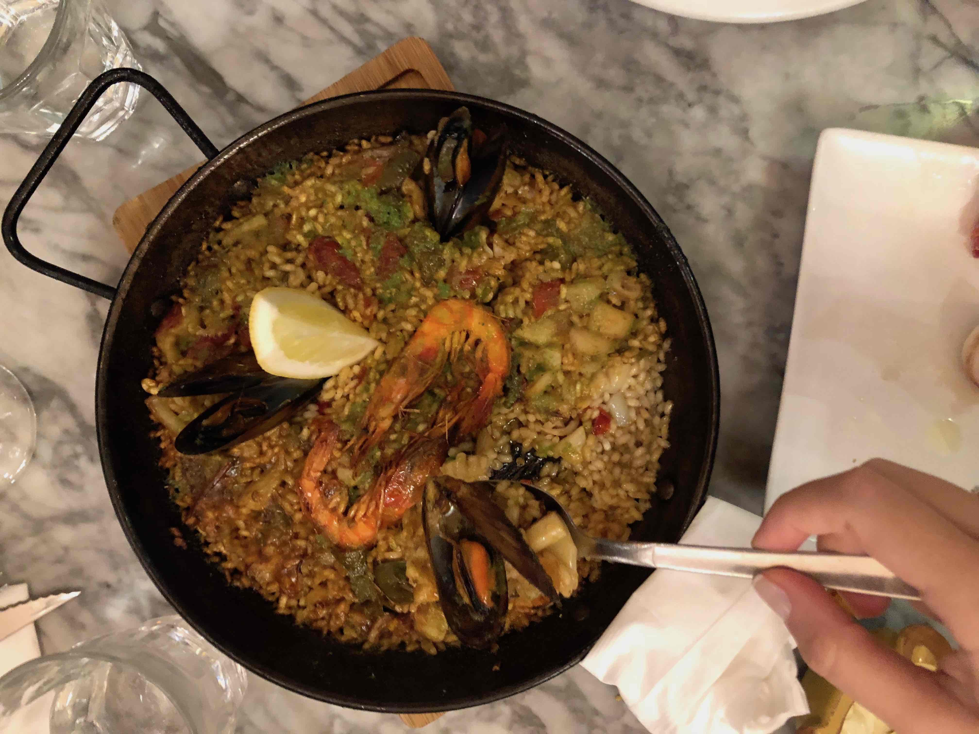 paella - ispanya mutfağı