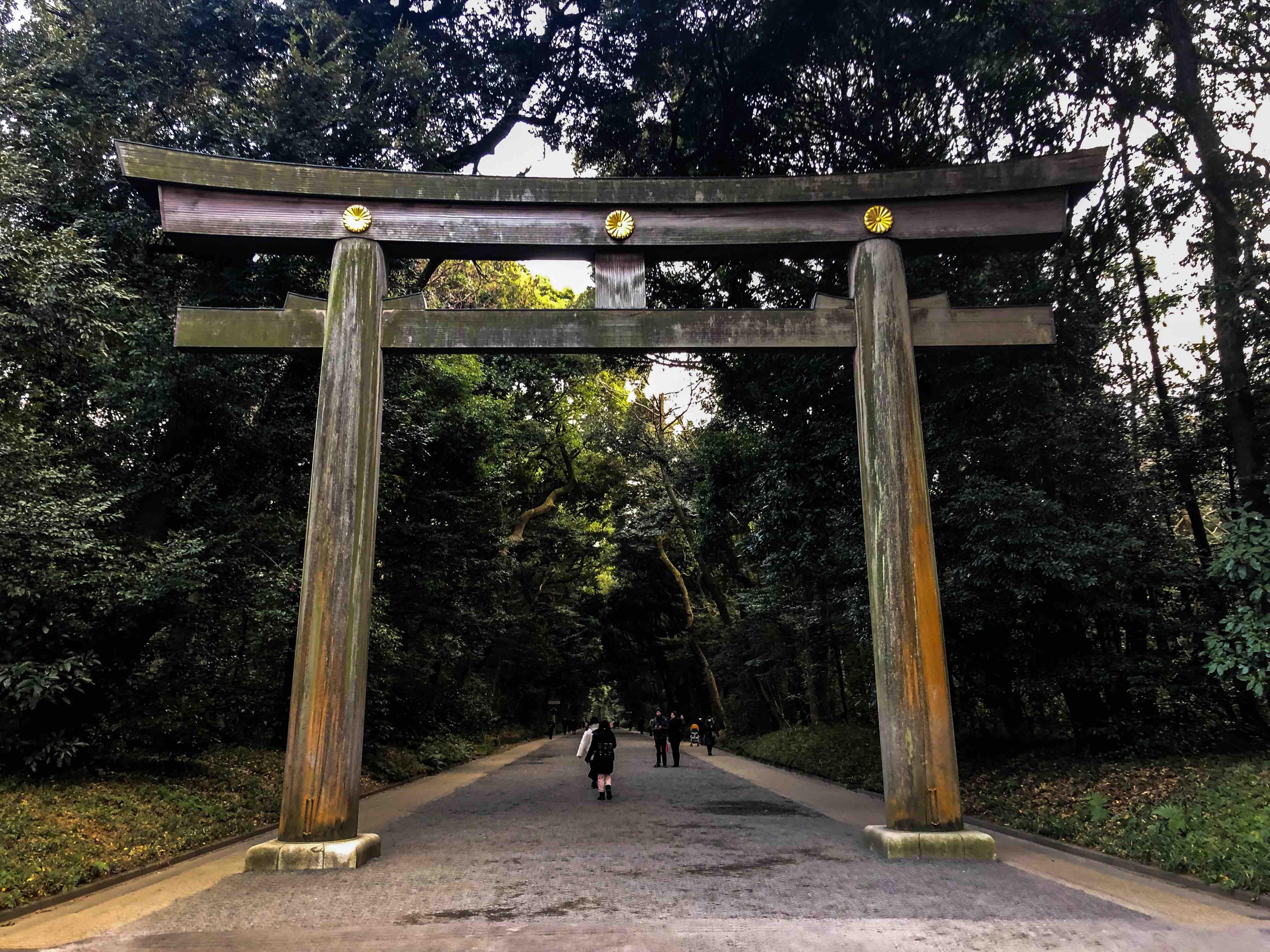Yoyogi Park - Meji Tapınağı - Japonyada gezilecek yerler ve tapınaklar