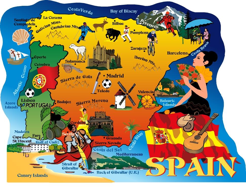 ispanya'da gezilecek yerler - rotalar