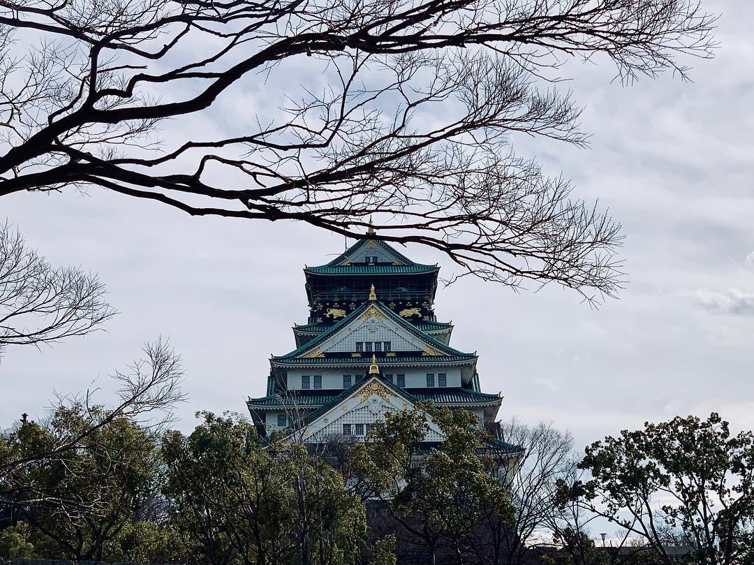 osaka kalesi - japonya'da gezilecek yerler