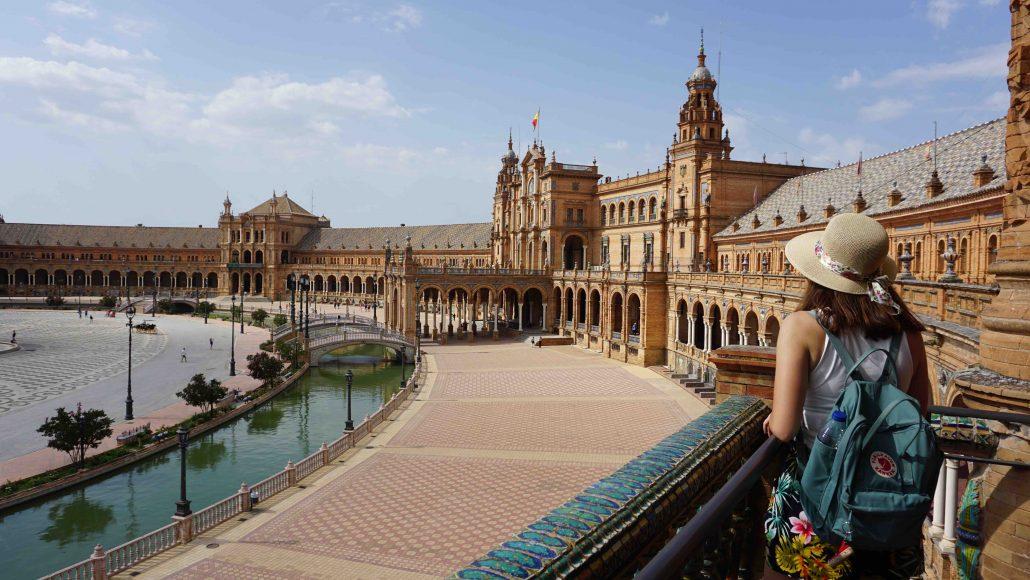plaza de espana - ispanya gezilecek yerler