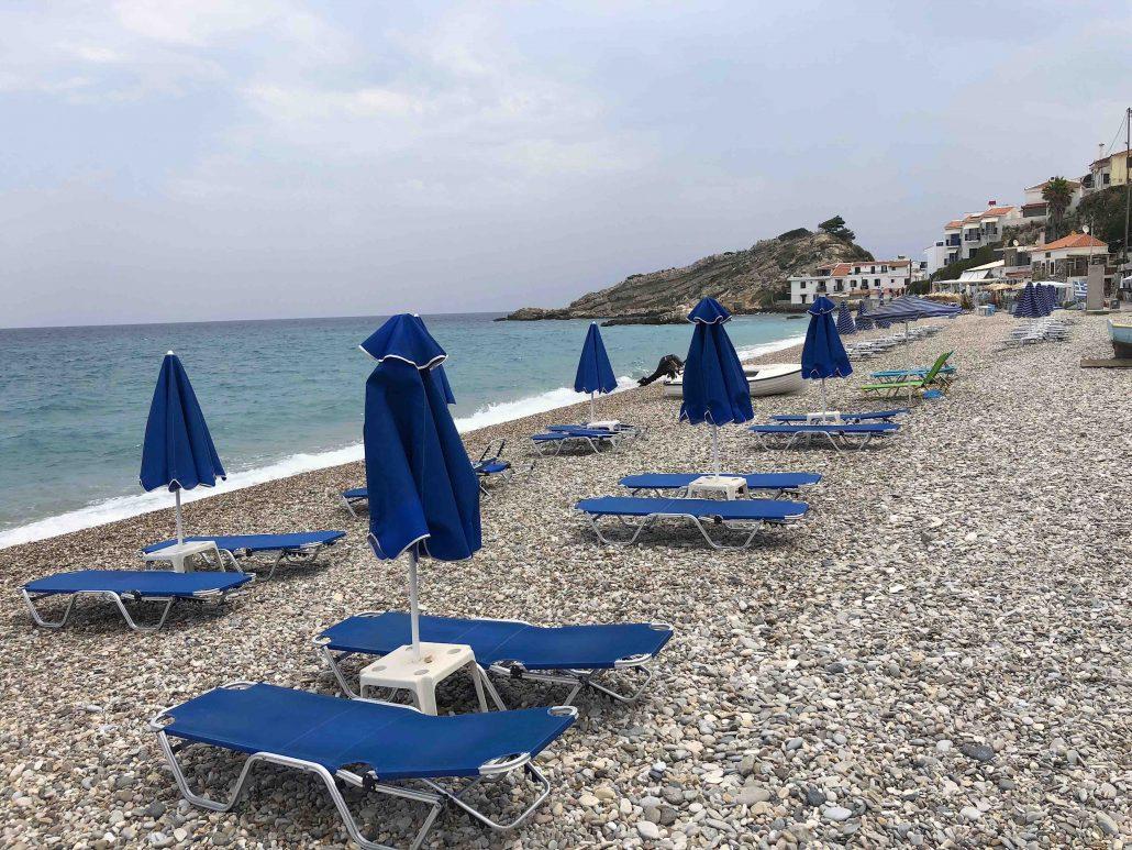 kokkari plajı - samos gezilecek yerler