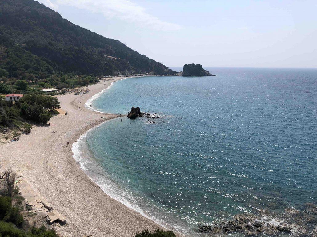 potami plajı - samos gezilecek yerler