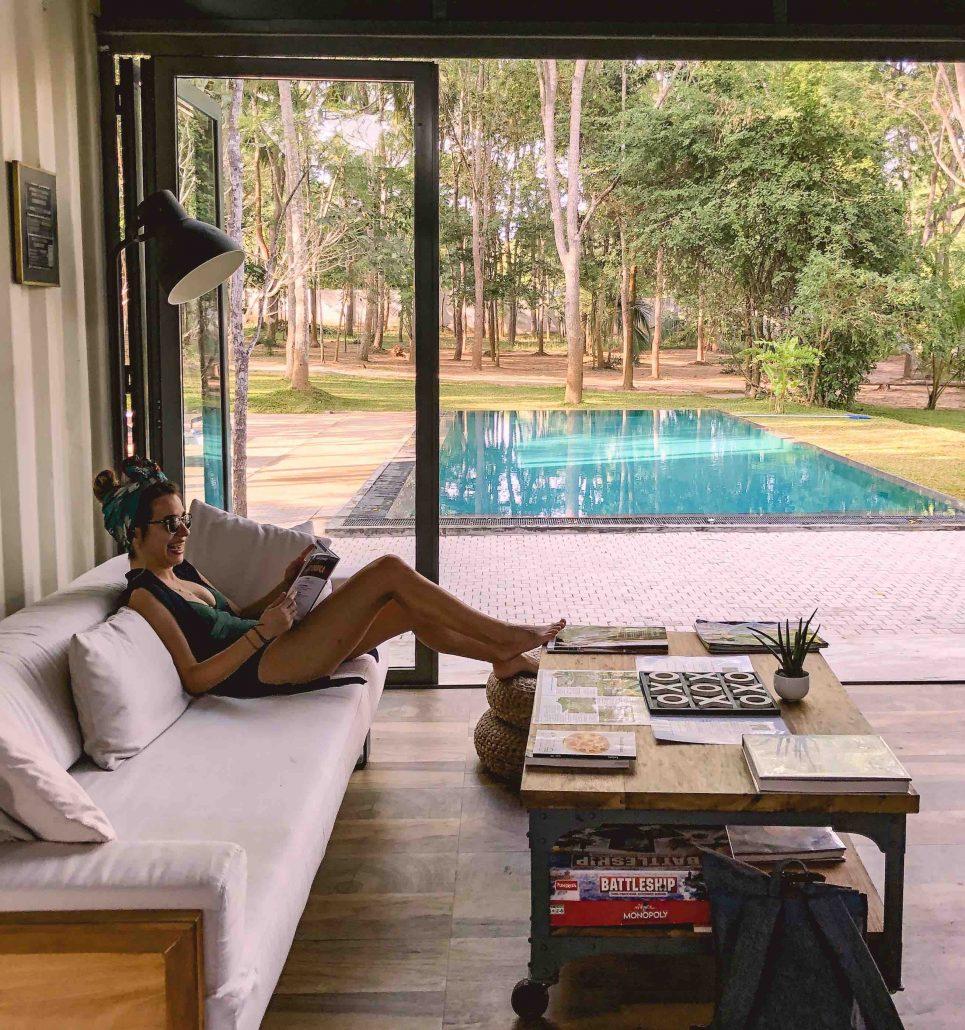konakladığımız airbnb evlerinden biri - sri lanka gezi rehberi