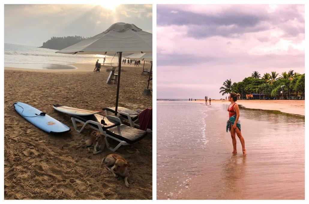 sri lanka plaj bölgesi - gezilecek yerler