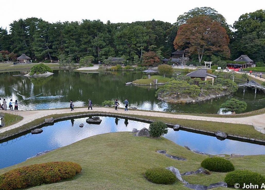 Okayama Korakuen Bahçesi