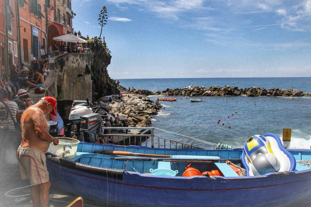 cinque terre gezi rehberi - balıkçı amca