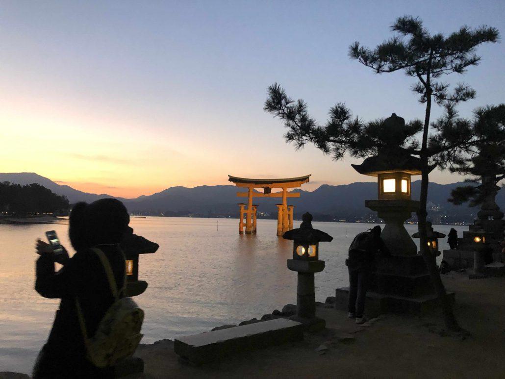 itsukushima shrine - japonya alternatif gezi yerleri